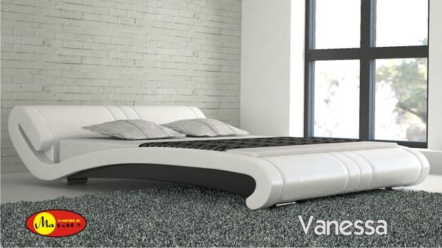 a04fe150df69 Postel vanessa z přírodní kůže - moderní postele